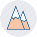 hills, landscape, mountain, mountains, nature, park icon