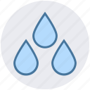 drops, nature, rain drops, water drops, weather, wet icon