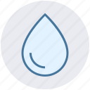 drop, nature, rain drop, water drop, weather, wet icon