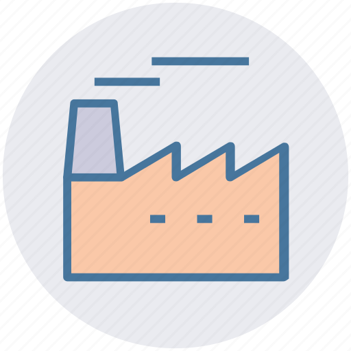 building, company, factory, industry, plant, production icon