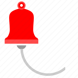 alarm, bell, signal, tourism icon