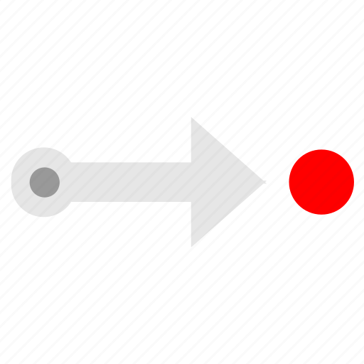 arrow, location, tourism, way icon