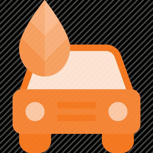 bio, car, eco, nature icon