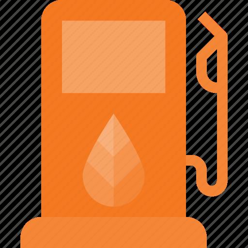 bio, eco, gas, station icon