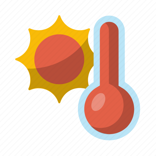 heat, hot, sun, warm, weather icon