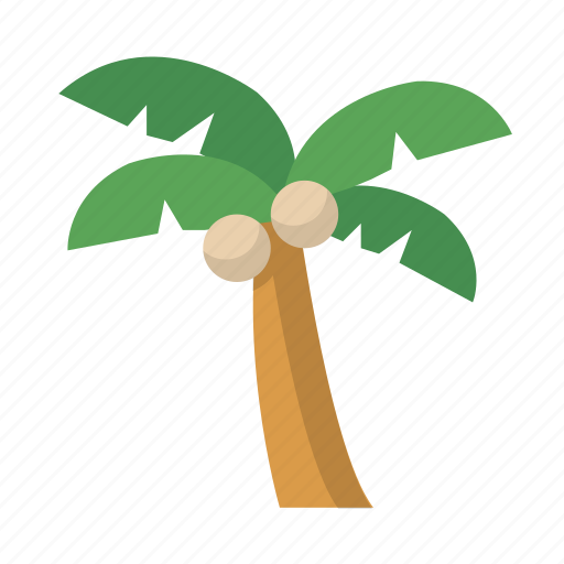 Island, palm, tree, vacation icon - Download on Iconfinder