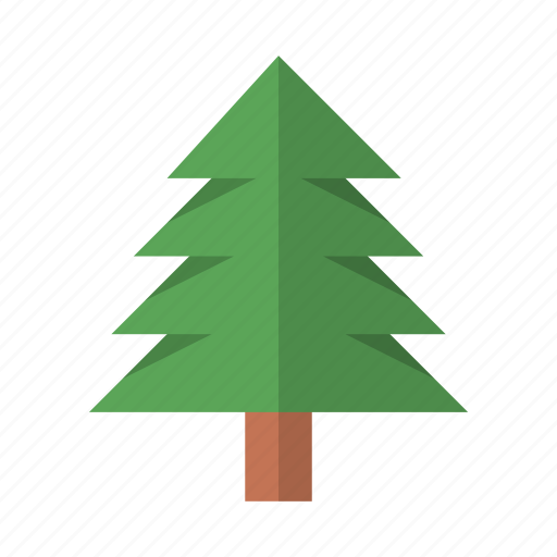 ecology, nature, pine, tree icon