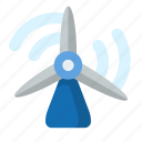 energy, green, power, turbine, wind, windmill icon