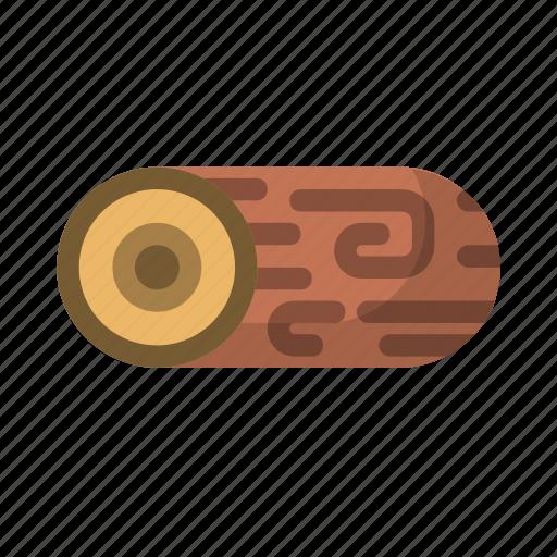 firewood, lumber, outdoors, wood icon