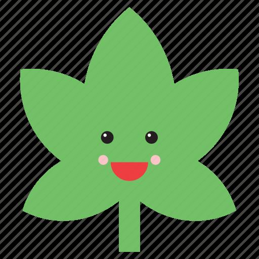 Weed emoji instagram