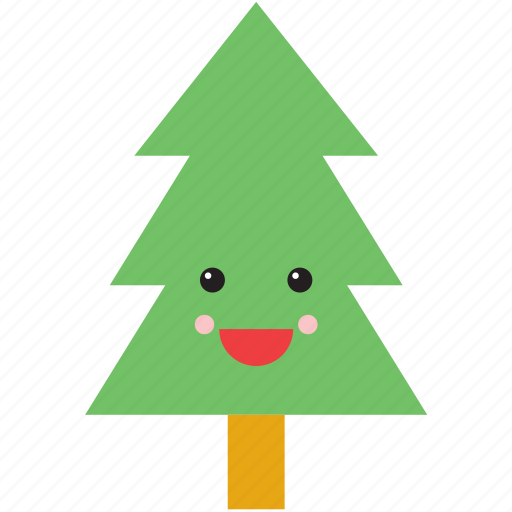 christmas, emoji, emoticon, face, fir, smiley, tree icon