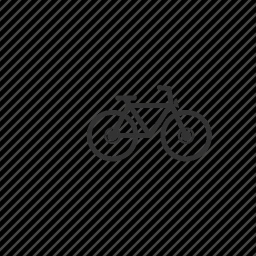bicycle, bike, handlebars, health, illustration, peddle, race, ride, sport, transportation, travel, wheel icon