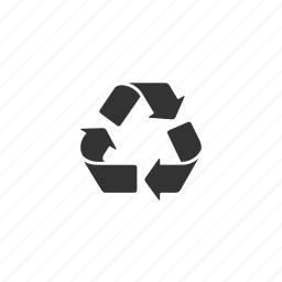 alternative, arrows, environmentalist, green, illustration, pollution, recycle, sign, trash icon