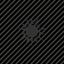 beams, daylight, energy, flare, heat, hot, illustration, rays, shine, star, summer, sun, sunlight, sunrise icon