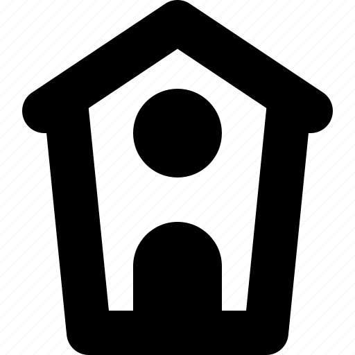 bird, birdhouse, house, nature icon