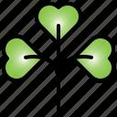clover, green, nature, shamrock, leaf
