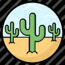 cactus, desert plant, desert succulent, prickly pear, wild plant icon