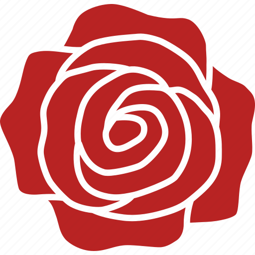 flower, red, romance, romantic, rosa, rose, top icon