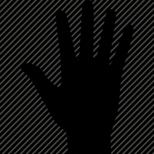 fingers, hand, human, palm, prehensile, print, raised icon