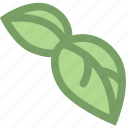leaves, life, nature, plant icon