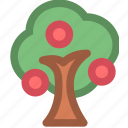 fruits, nature, plant, tree icon
