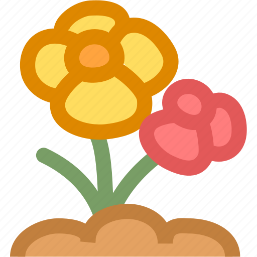 flower, flowers, nature, plant icon