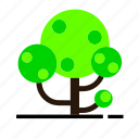ecology, environment, forest, green, nature, tree icon