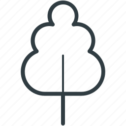 generic, nature, shrub, tree, yard tree icon