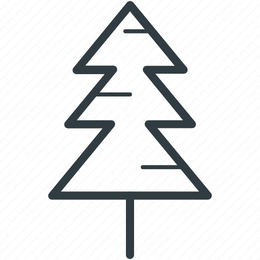 christmas tree, evergreen tree, fir tree, pine tree, tree icon
