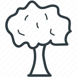 forest, generic tree, leaves, nature, nature inspirations, tree icon