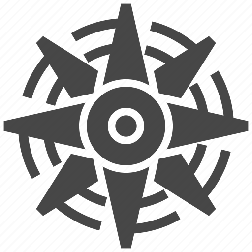 compass, nautical, nautical star, star icon