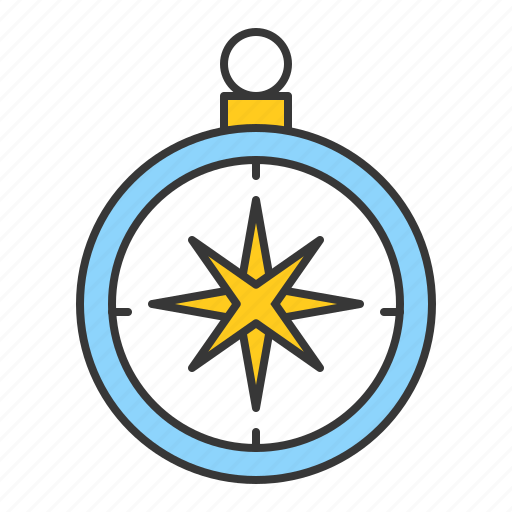Compass, direction, location, map, nautical icon - Download on Iconfinder
