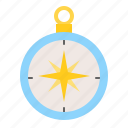 compass, direction, location, map, nautical, sea icon