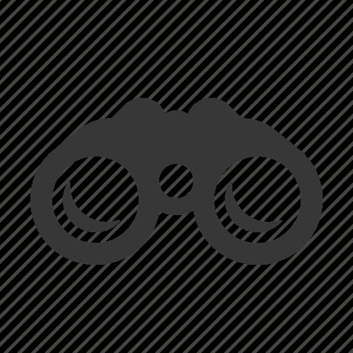 binoculars, marine, maritime, nautical, raw, shipping, simple icon