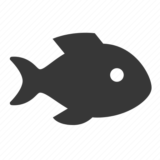 fish, marine, maritime, nautical, raw, shipping, simple icon