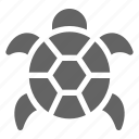 animal, ocean, tortoise, turtle icon