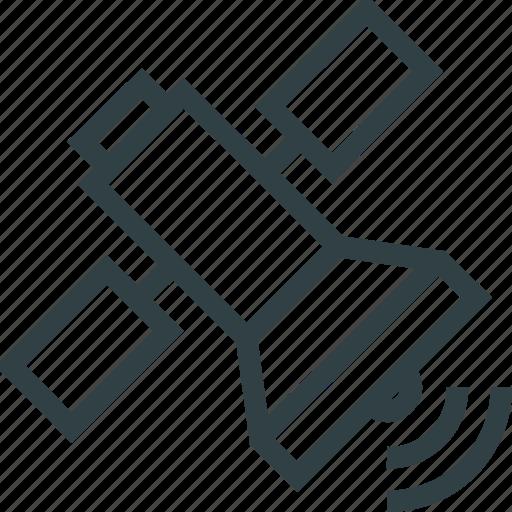 gps, navigation, satellite icon