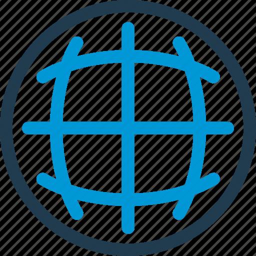 globe, location, map, navigation, radar icon