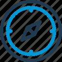 arrow, compas, location, map, navigation, track, way icon