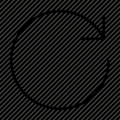 arrow, autorenew, circle, history, refresh, renew icon