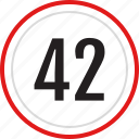 42, numbers, number