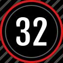 numbers, number, 32