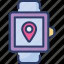 compass, gps, location, maps, navigator, smartwatch, watch
