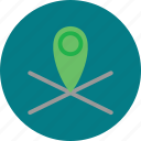 geolocation, gps, location, realtime icon