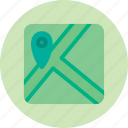 geolocation, location, map, marker, roads icon