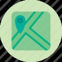 geolocation, location, map, marker, roads