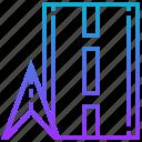 arrow, destination, location, marker, navigation