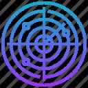 destination, focus, location, navigation, position, radar, target