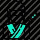 assassin, avatar, japan, killer, man, ninja icon
