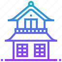 building, home, house, japan, ninja icon